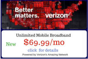Unlimited Mobile Broadband Promo