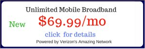 Unlimited Mobile Broadband Rental